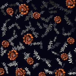 orange artichokes