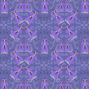 Victorian Ladies Flossie Fabric Collection