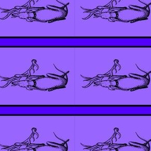 "Antler_Whippet1_Inktober1.5""-2""Collar_Violet"