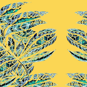 Abstract dreamleaves