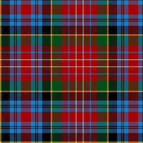 Caledonia district tartan, 6""
