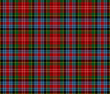 "Caledonia tartan / Wilson's #155, 6"" fabric by weavingmajor on Spoonflower - custom fabric"