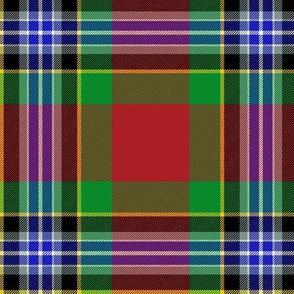 """Caledonia ancient tartan, 6"""""""