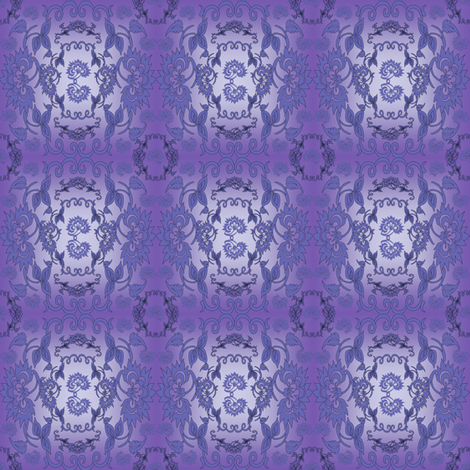 Victorian Ladies Flossie Fabric Collection fabric by lworiginals on Spoonflower - custom fabric