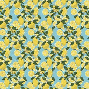 Lemon_pattern_repeating_design_