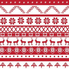 Fair isle Christmas
