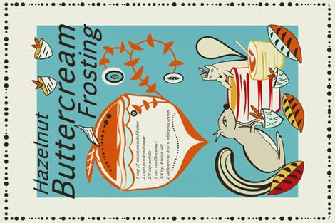 Hazelnut_Buttercream_Frosting_sewindigo fabric by sewindigo on Spoonflower - custom fabric