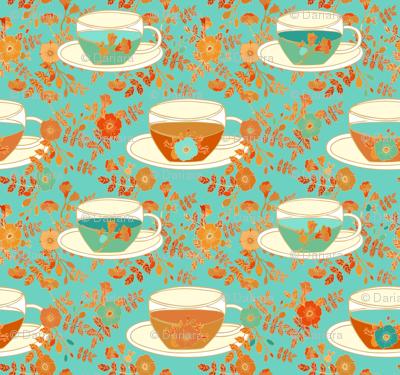 Rose tea time