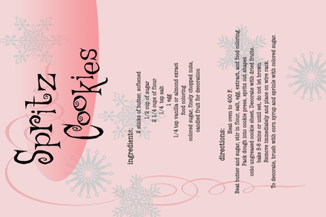 spritzcookies fabric by garland_villanova on Spoonflower - custom fabric