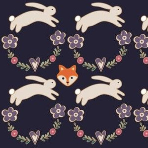 Fox with the Bunnies