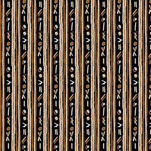 Alien Cuneiform Stripe - Rev Orange