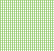 gingham apple green