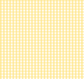 gingham sunshine yellow