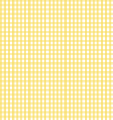 gingham butter yellow