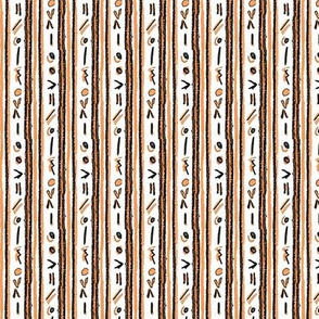 Alien Cuneiform Stripe - Orange