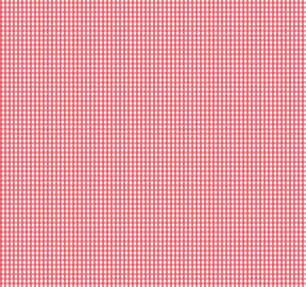 gingham bold coral fabric by misstiina on Spoonflower - custom fabric