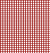 gingham dark red