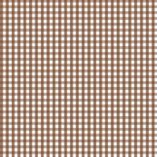 gingham chocolate brown