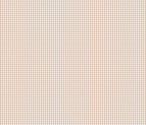 gingham toasted nut fabric by misstiina on Spoonflower - custom fabric