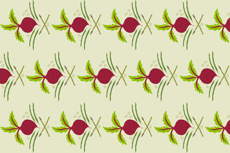 Queen Beet Damask fabric by jpgmarks on Spoonflower - custom fabric