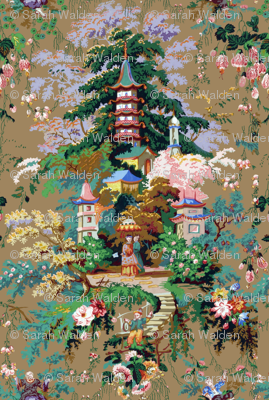 Chinoiserie Palace ~ Faded Glory ~ Large