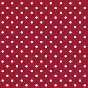 chili pepper polka dots