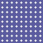 blue iris cross +
