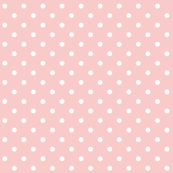 rose quartz polka dots