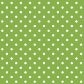 greenery polka dots