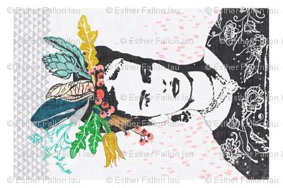 Frida's Cantina Tea Towel (emerald)
