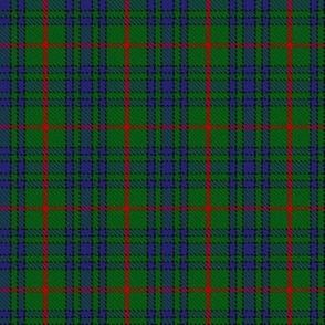 Clan Ayton Tartan // Small