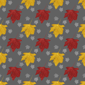 Falling Leaves | Tuscan Gray