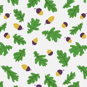 Oak purple