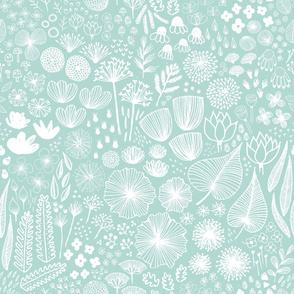Botanical Sketchbook M+M Wintermint by Friztin