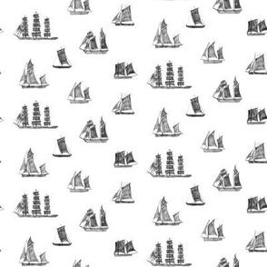 Scattered Ships