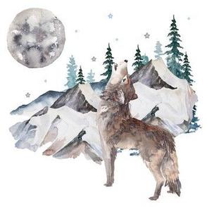 "7"" Wolf Winter"