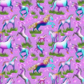 Unicorns_on_Lilac