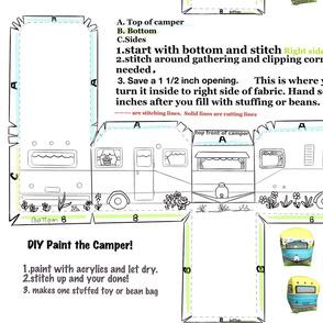 DIY cut and sew Camper