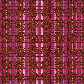 Patriotic Plaid-Pine Cone-2