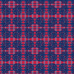 Patriotic Plaid-Pine Cone-3