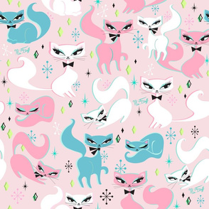 Swanky Kittens  Pink- MEDIUM