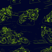 MotoGP 2015 Pen&Ink