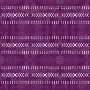 Minimalist Tribal Pattern in Raspberry Pink