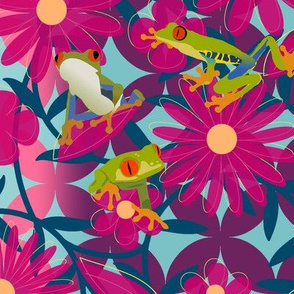 floral_leaves_frogs7