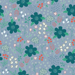 hunter_green_floral
