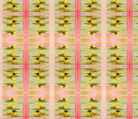 Lemon Square Stripes fabric by erica_lindberg_designs on Spoonflower - custom fabric