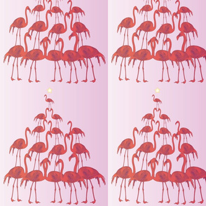 Christmas_flamingos
