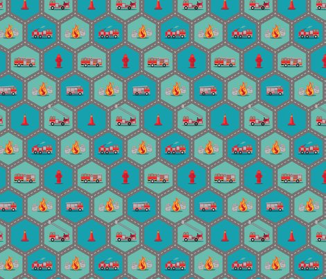 Fire_engine_fabric_-_hex_road_diag_pattern_lg_shop_preview