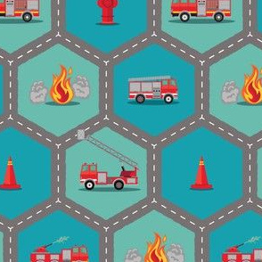 Fire Trucks - Roading Hex
