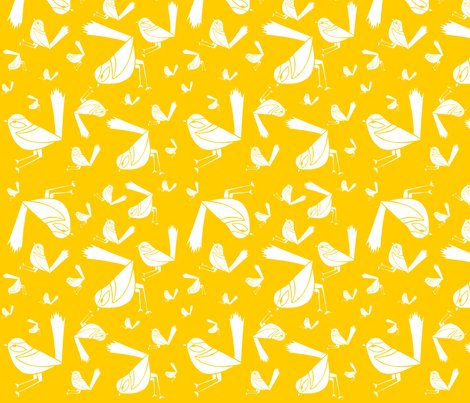 Lots_of_white_wrens_yellow_background_150dpi_shop_preview